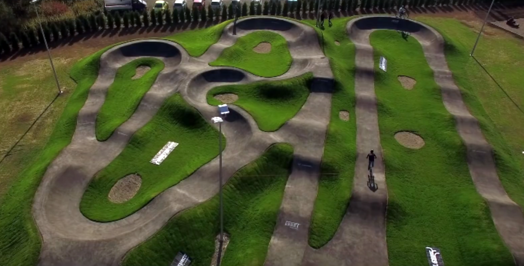 The Biggest Asphalt Pumptrack