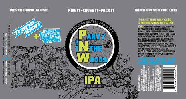TRANSITION Party in the Woods IPA