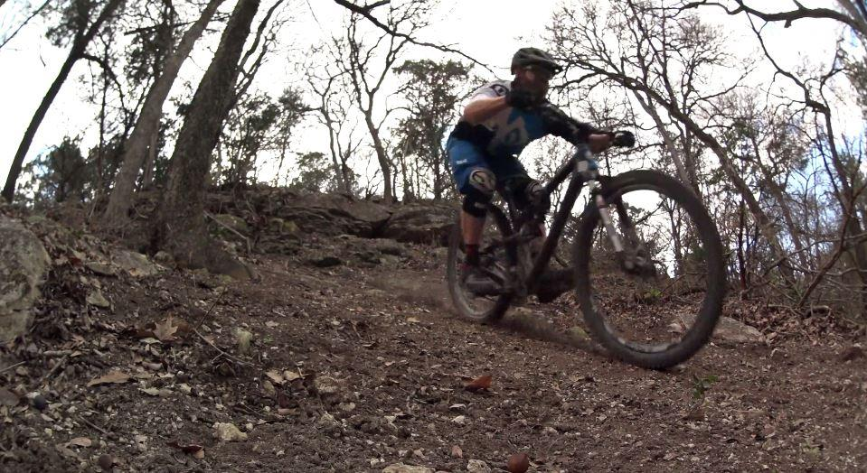 This is Austin Mountain Biking Single Track Trails