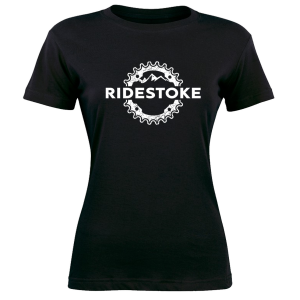 Mountain Bike Women's T-Shirt RideStoke