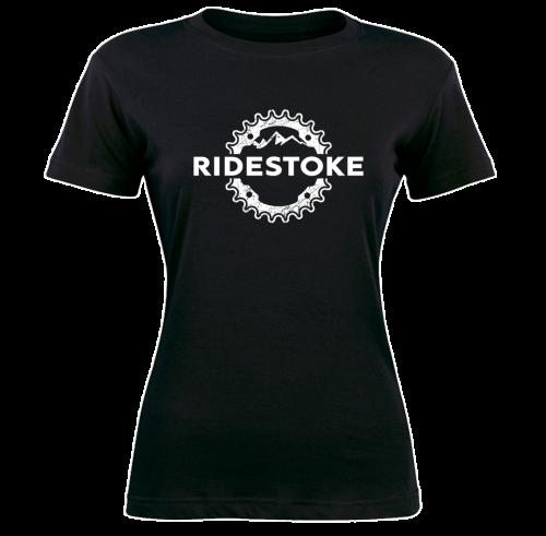 Mountain Bike Women's T-Shirt RideStoke