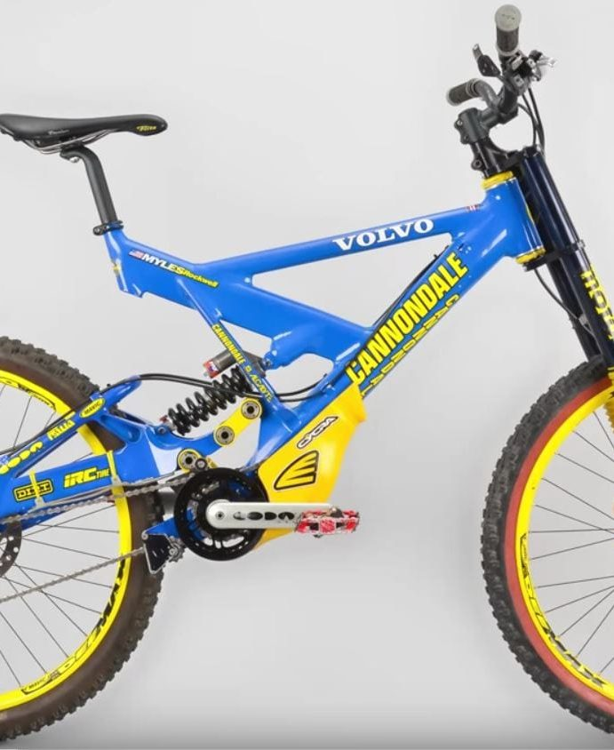 Myles Rockwell's 1998 Cannondale Fulcrum