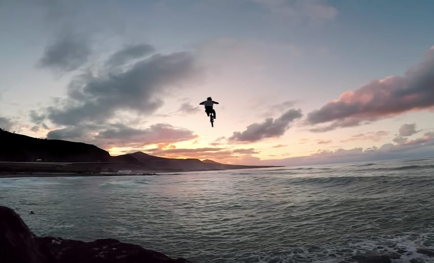 Video: Danny MacAskill Final Jump Cascadia Behind the Scenes