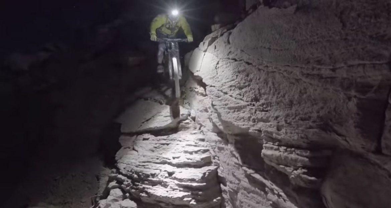 Darren Berrecloth King Kong MTB Trail by Supermoon Light