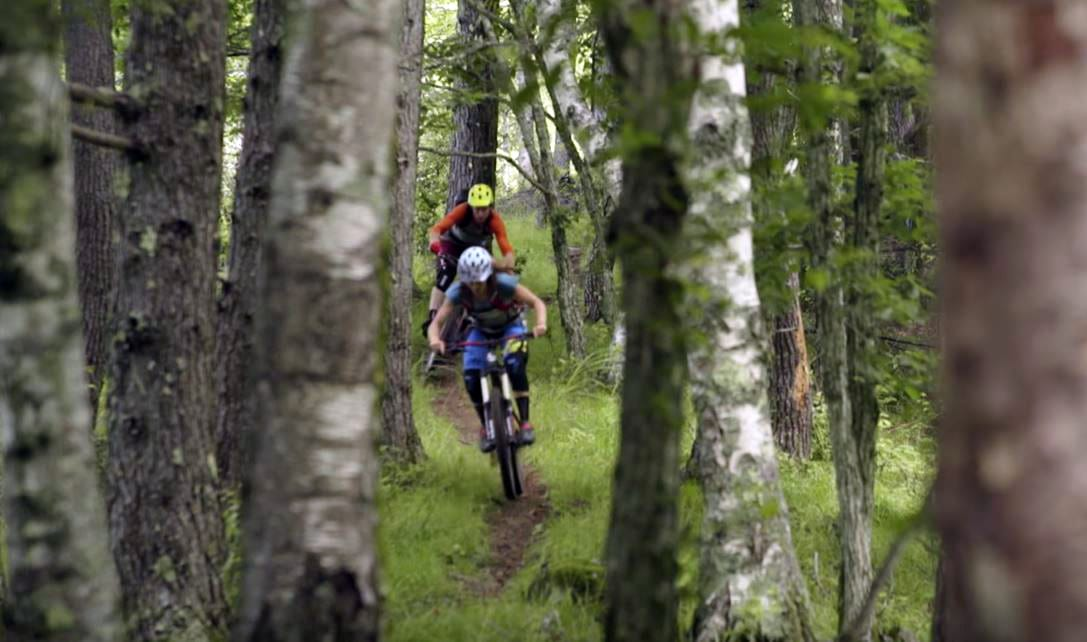 Ride On Japan. Riding hidden trails in the Japanese Alps.