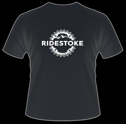 RideStoke Hanes Men's Beefy Short Sleeve T-shirt