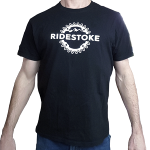 RideStoke Hanes Men's Beefy Short Sleeve T-shirt