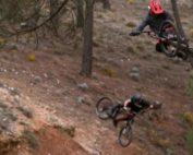 Mountain biking Not2Bad the movie