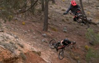 Mountain biking Not2Bad the movie