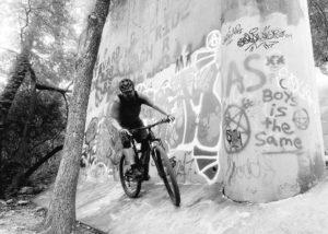 Mountain biking on Barton Creek Greenbelt
