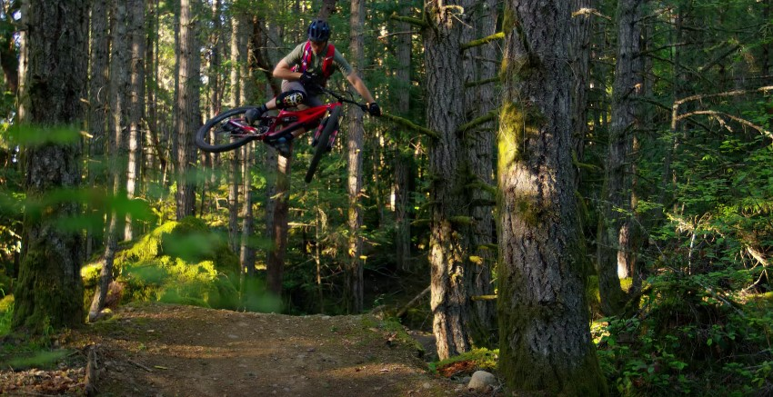 Jeff Kendall-Weed Mountain bike