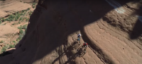 GPS Tracking Drone follow Aaron Chase