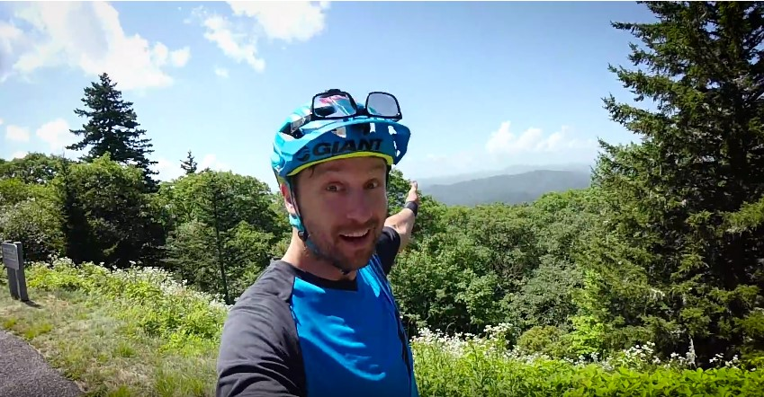 Mountain Biking at Bennett Gap Pisgah National Forest with Jeff Lenosky