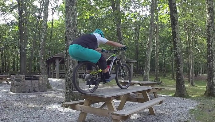 Mountain Biker Trail Boss Jeff Lenosky