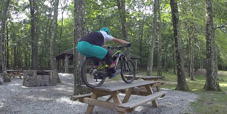 Mountain Biker Trail Boss Jeff Lenosky
