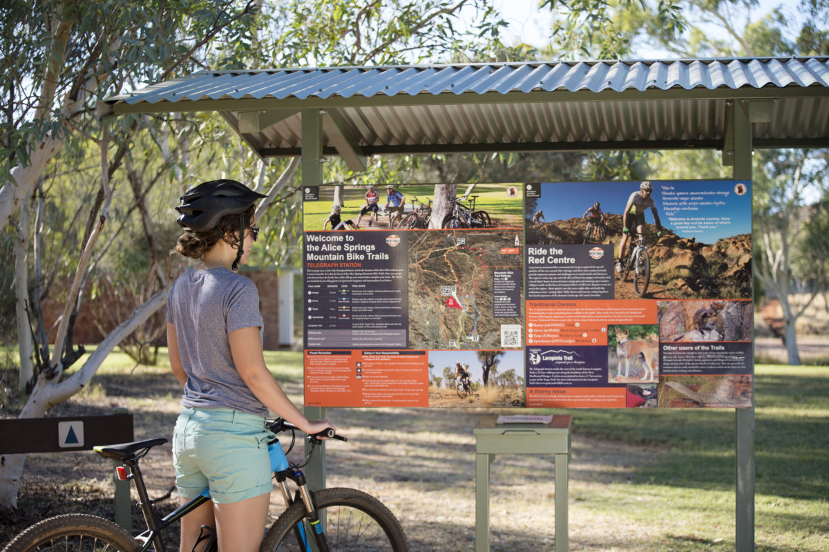 Mountain Bike Trails in Central Australia