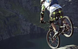 Norway Mountain Biking Lofoten Island