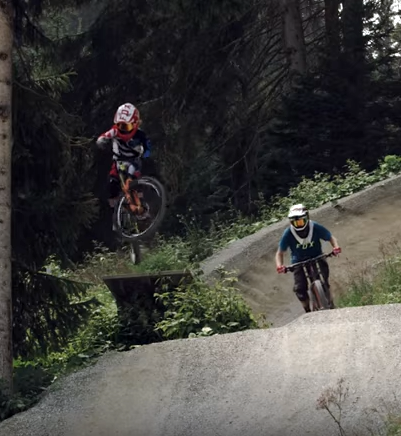 Jackson Goldstone | Video Shred Day With Dad Send it