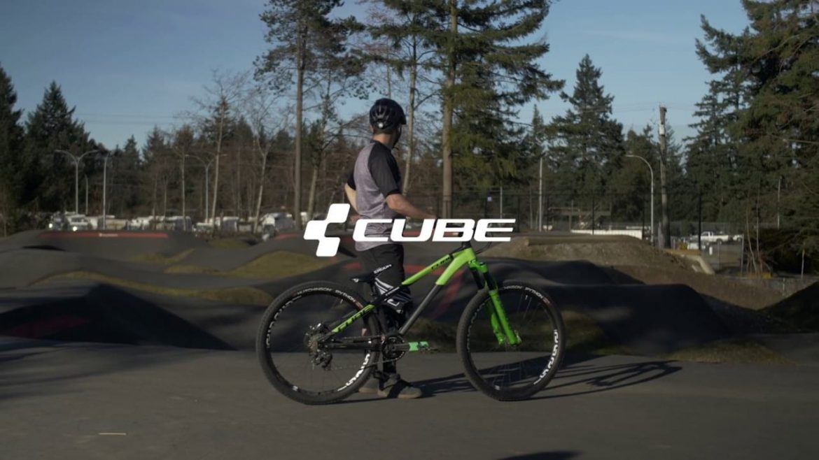Cube Bikes Flying Circus Steve Smith Pumptrack