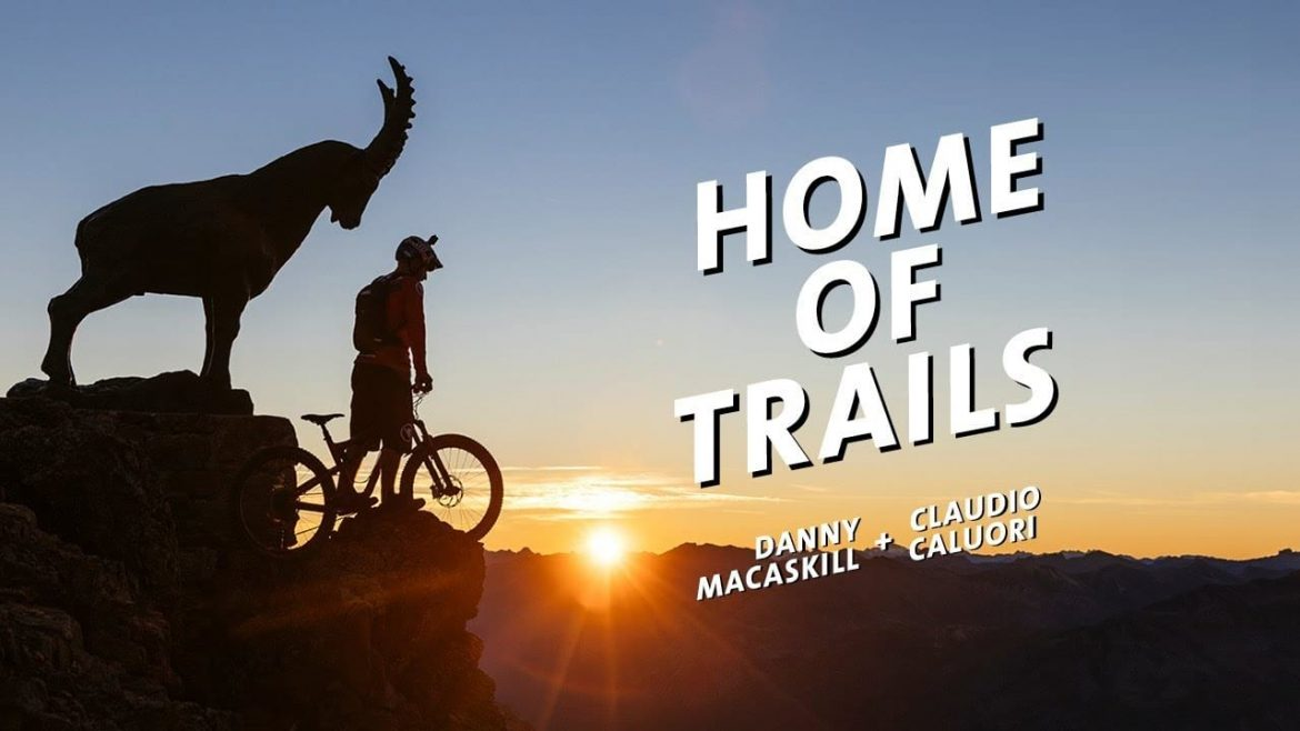 Danny MacAskill With Claudio Caluori Shredding Graubunden in Home Of Trails