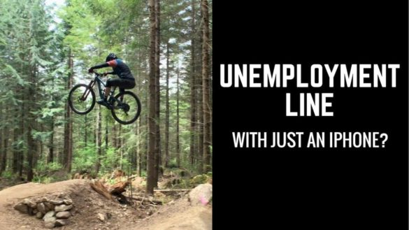 Jeff Kendall-Weed Rides Unemployment Line Trail Flowy Sequence