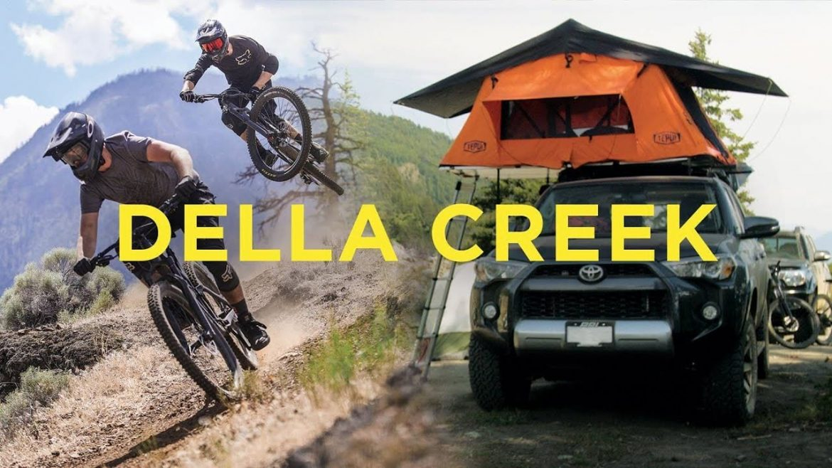 IFHT Freeriding and Camping in Dell Creek Lillooet British Columbia Canada
