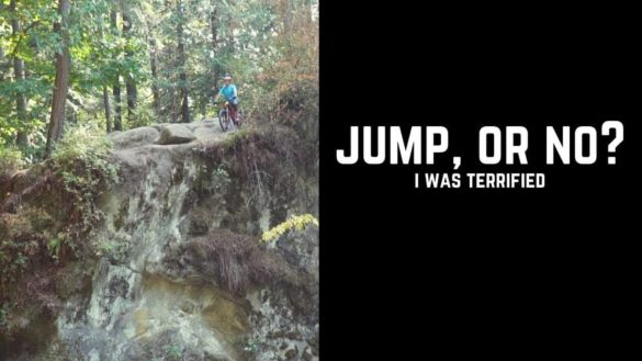 Jeff Kendall-Weed: Massive Cliff Jump On His Bike