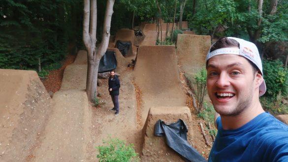 Video: Riding The Most Insane Mountain Bike Dirt Jumps - Matt Jones