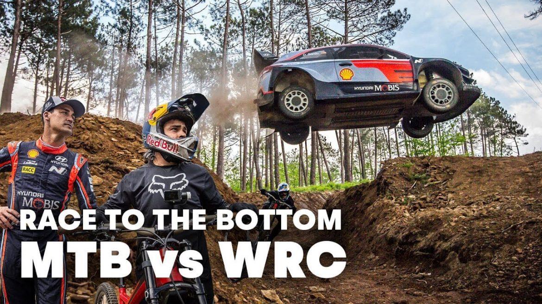 Andreu Lacondeguy WRC Driver Dani Sordo Race