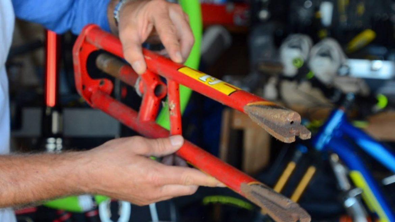 Hans Rey Garage Retired Bikes Frames Parts