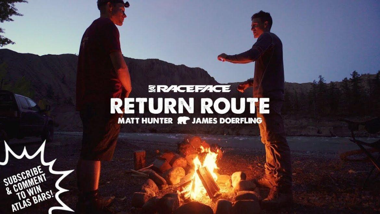 Return Route Farwell Canyon Ride James Doerfling and Matt Hunter
