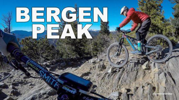 Video: Mountain Biking Bergen Peak, Colorado | Nate Hills | Happy New Year!