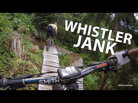 Video: Nate Hills Rides Whistler Side Country | Khyber to Babylon