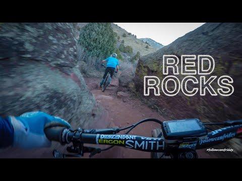 POV Footage of Nate Hills Mountain Biking Red Rocks