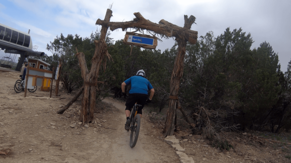 Vipers Den Trail Spider Mountain Bike Park