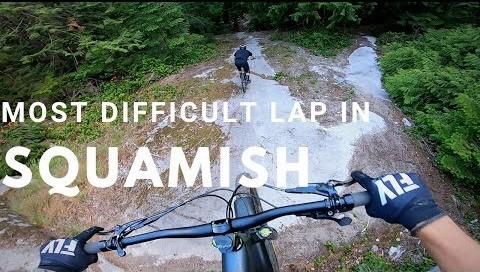 Most Difficult Legal Squamish Trails | Rémy Métailler & Adam Price