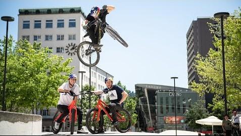 Street Riding With Legends - Danny Macaskill, Martin Söderström & Fabio Wibmer