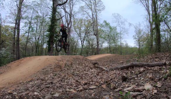 Mountain bike coaching how to jump a bike