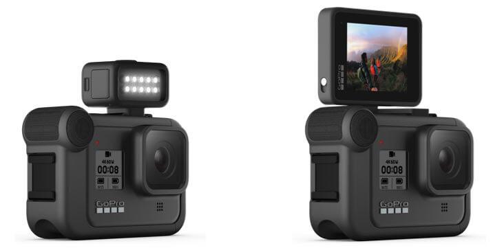 GoPro HERO8 Black modular extended frame