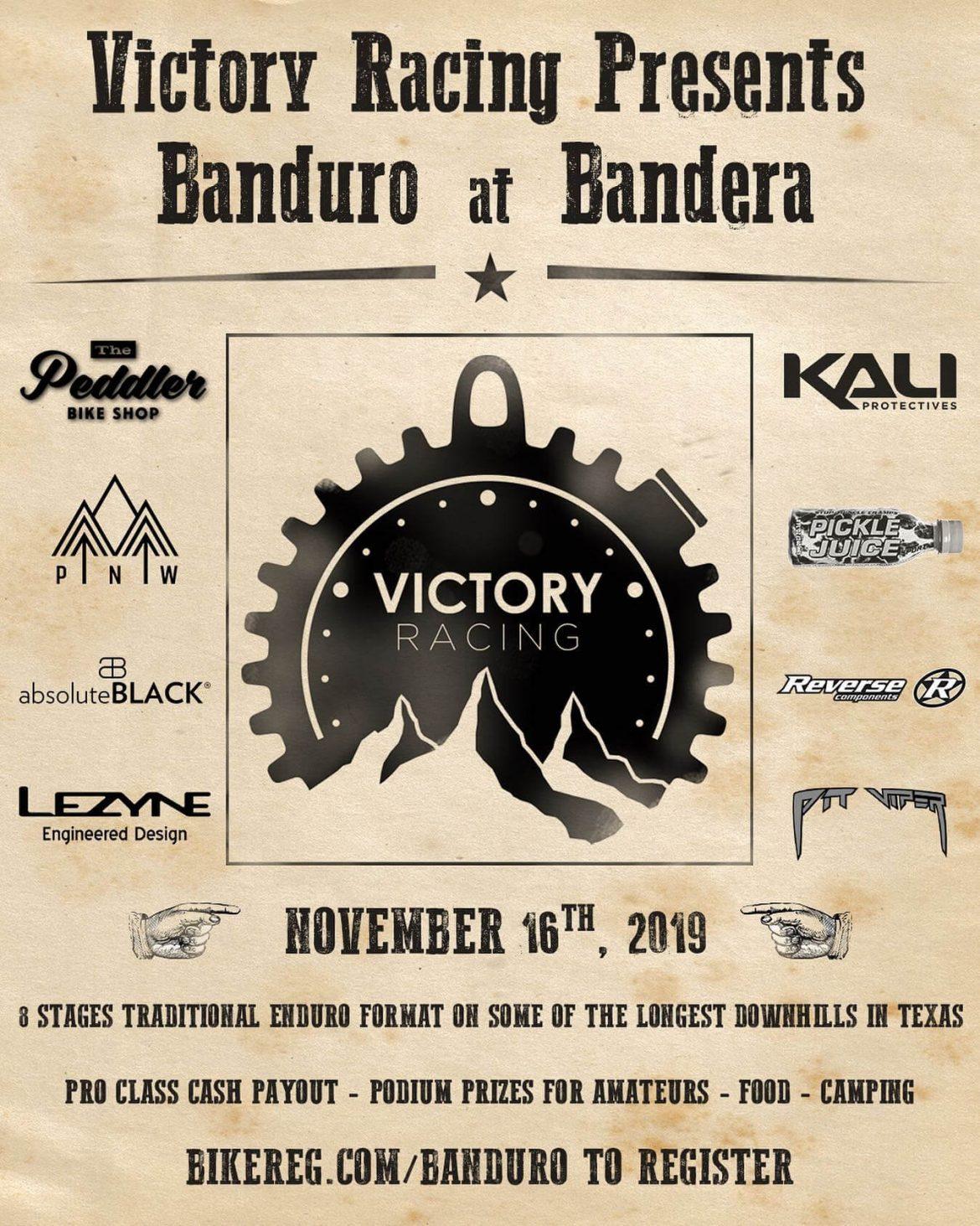Victory Racing Presents Banduro at Bandera