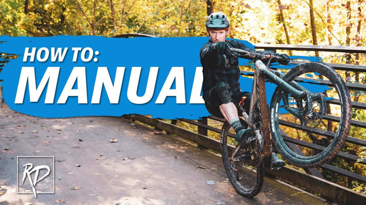 MTB Coaching | How to Manual a Mountain Bike with Rich Drew