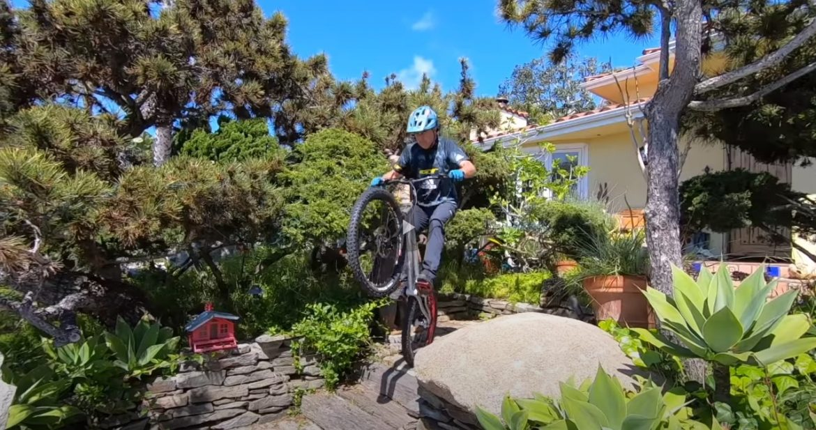 Quarantined during the Coronavirus Pandemic | Hans Rey stuck at home 9 bikes Trials Challenge