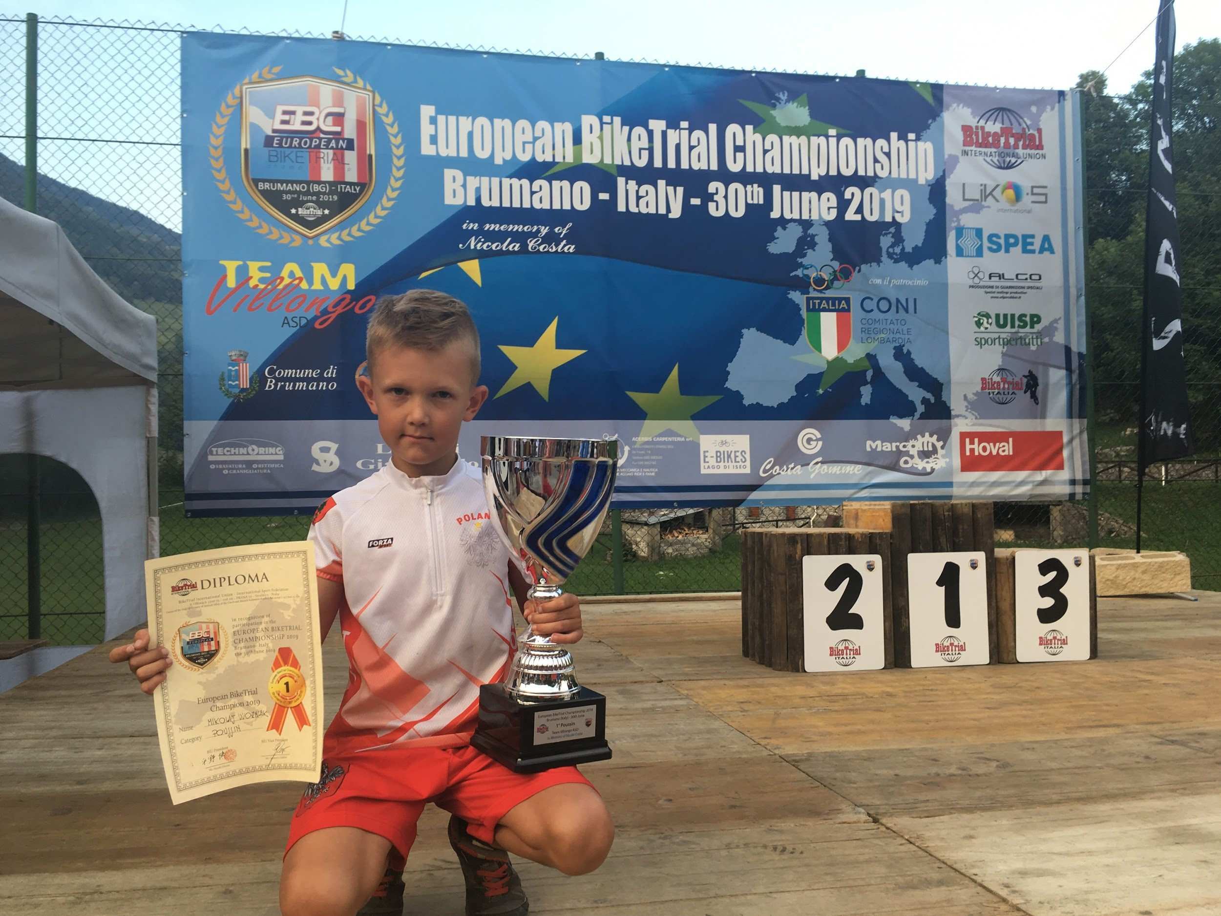 "Amazing 10 Year Old Trials Rider | Mikolaj ""Miki"" Woźniak"