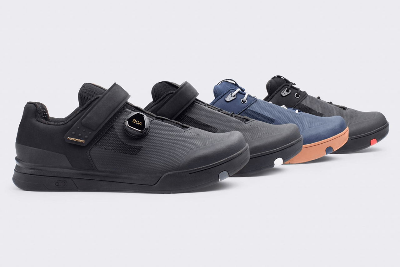 Crankbrothers New Mountain Bike Shoe Line