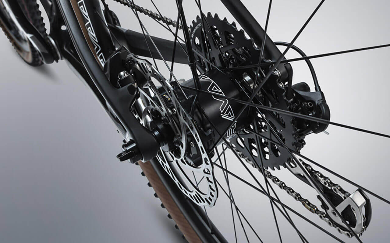Gravaa Wheelset Rear Wheel