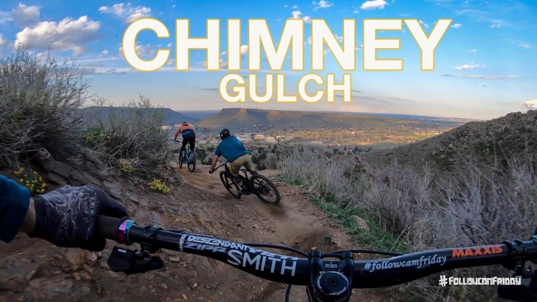 Riding Chimney Gulch