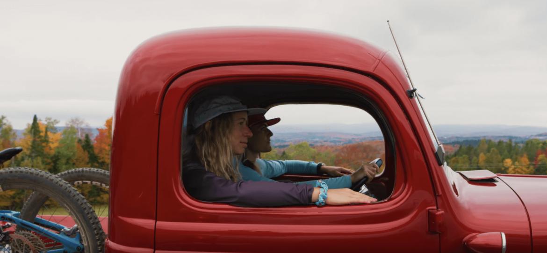 Blackberry Swirl mountain biking in Vermont