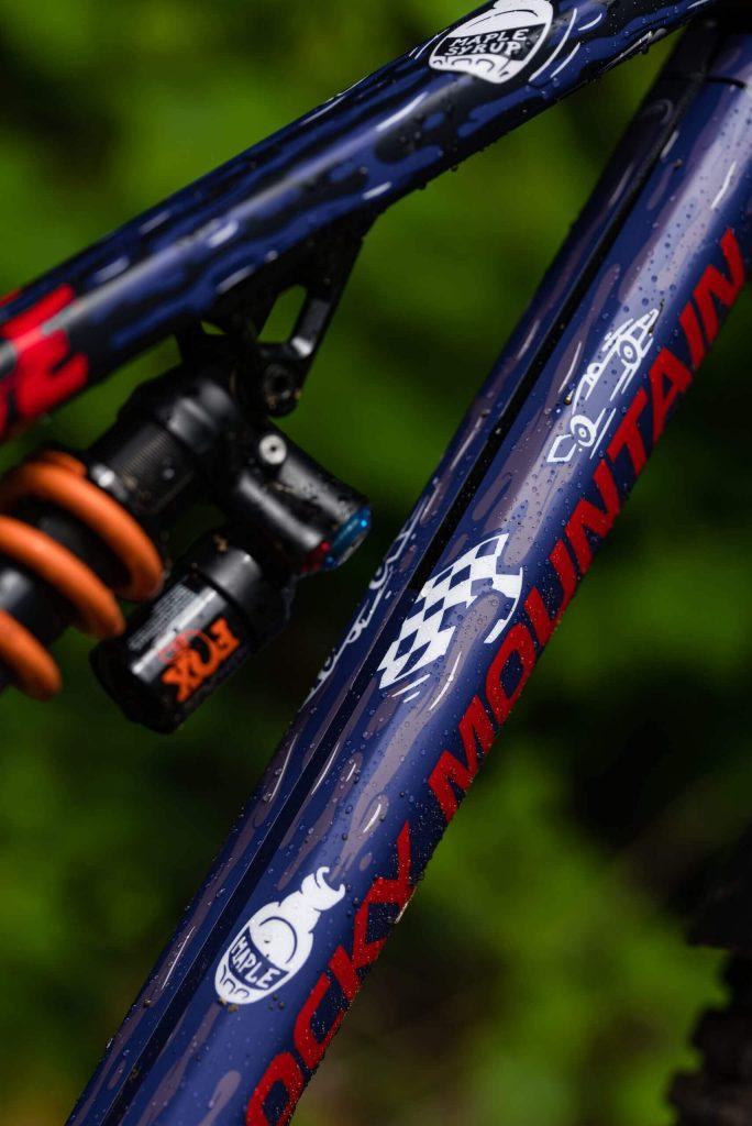Ridewrap Rocky Mountain Enduro Team