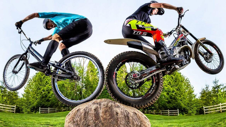Moto vs Bike Trials